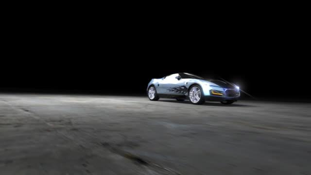 Racing Sports Car video