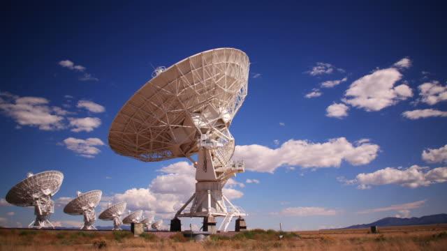 Radar Array Dish Time Lapse video