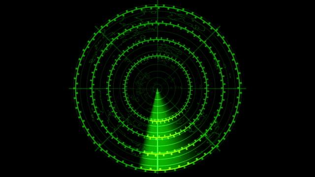 Radar Screen Animation video