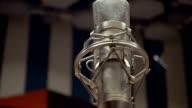 Radio Station Microphone video