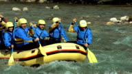 HD: Rafters Running The Rapids video