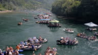 Rafting on river Drina video