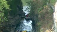 HD: Rafting Through A Canyon video