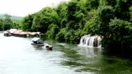 Rafting tour in River Kwai,Kanchanaburi Thailand video