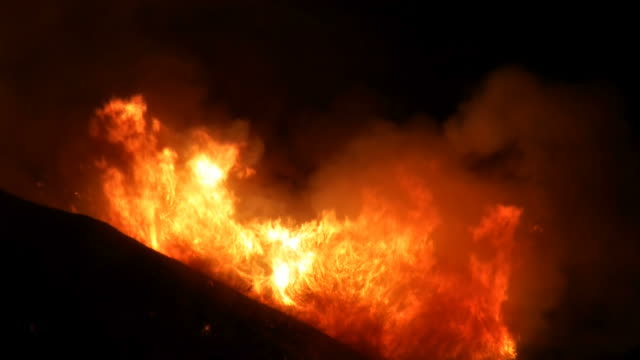 Raging Inferno on Hillside video