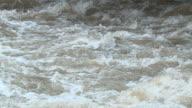 SLO MO Raging river rapids video
