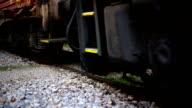 Rail freight train video