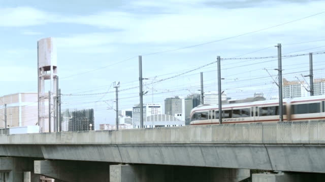 Rail Link System in city video