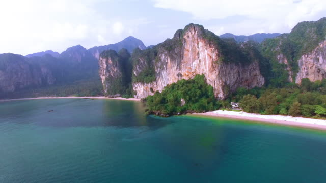 Railay West Beach by Drone video