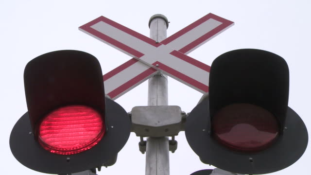 Railway Crossing Lights video