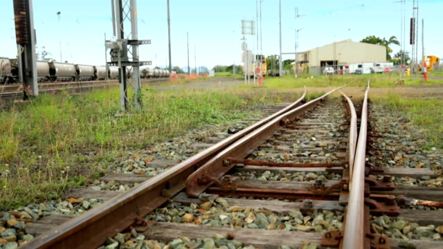Railway track switching video