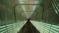 Railway tunnel video