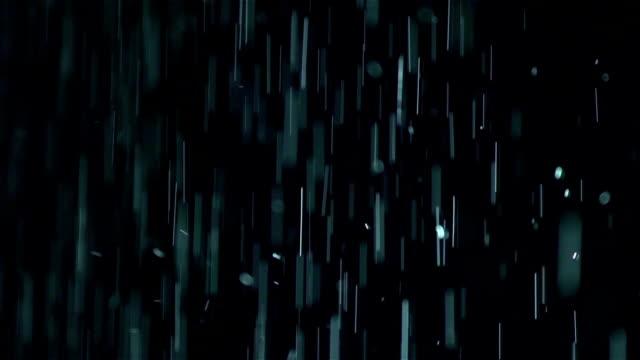 Rain drops falling video