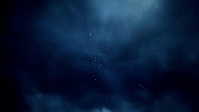 Rain falling towards camera video