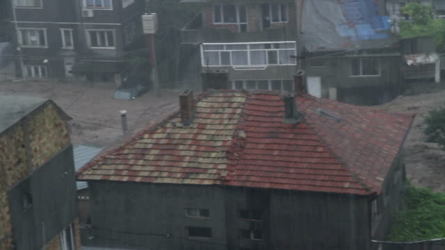 Rain flood in Bulgaria video