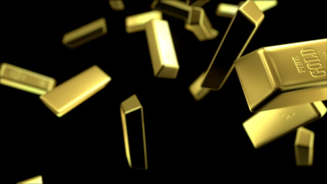 rain of gold bars video