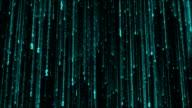 rain of numbers a'la matrix video