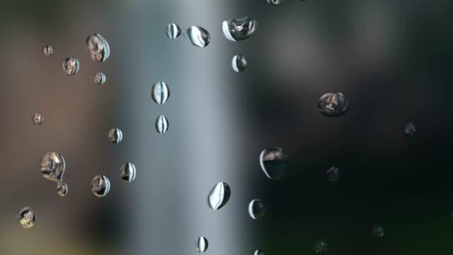 rain water drops video