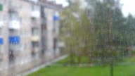 rain window bad weather video