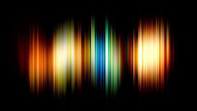 Rainbow blur background v1 video