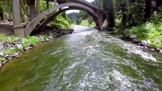 Rainbow Bridge in the majestic Idaho Forest video