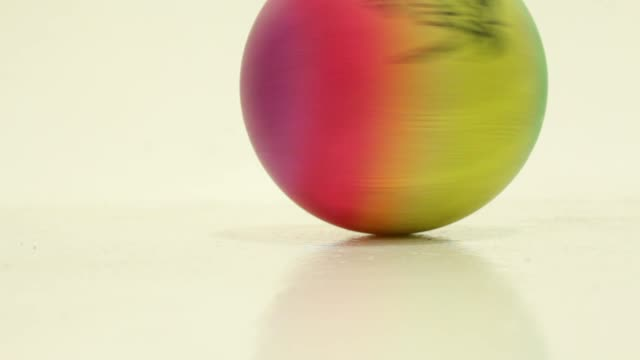 Rainbow Colored Ball Toy video