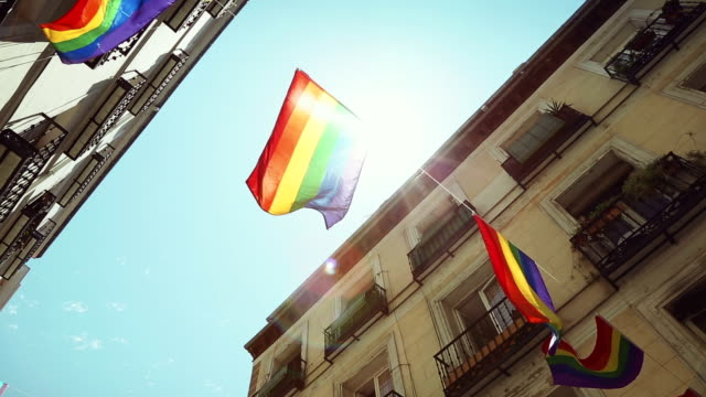 Rainbow Flag Gay Rights Pride video