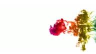 Rainbow Ink Drop video