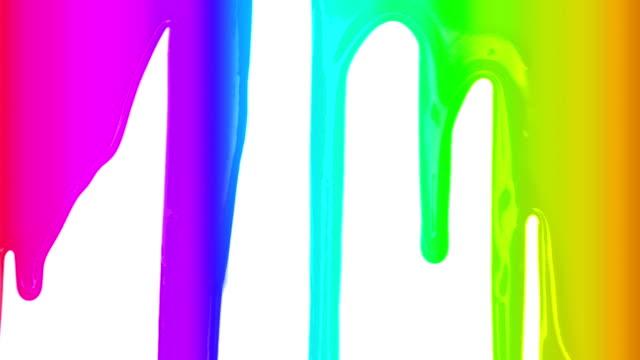 Rainbow Paint Transition video