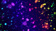 Rainbow Particle Animation - Loop video