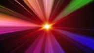 Rainbow Streaks Background Loop video