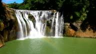 Rainbow Water falls_Shifen Waterfall video