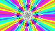 Rainbow waves video