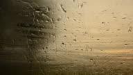 Raindrop Falling Down Window video