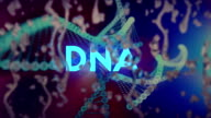 Raindrops, DNA Background video