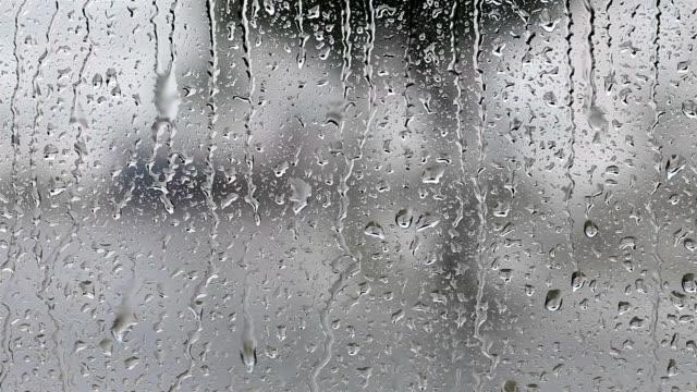 Raindrops on the window video