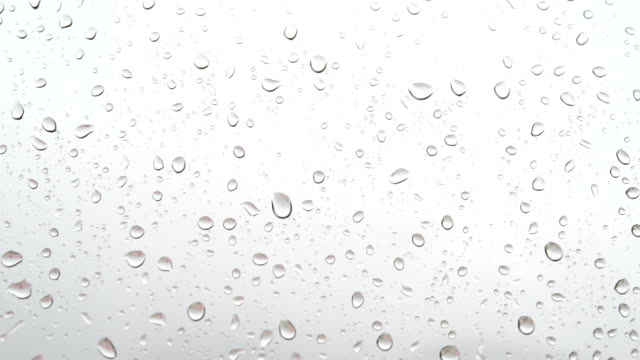 Raindrops on the window video