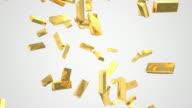 Raining gold ingots with alpha video