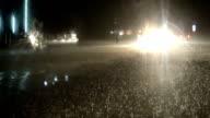 Rainy Night Traffic video