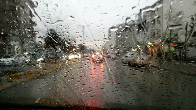 Rainy Wet Window video