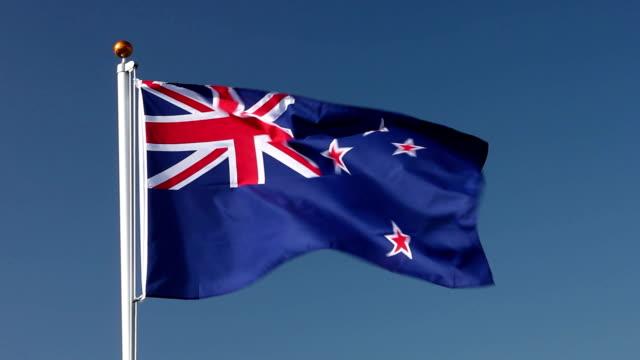 Raising the New zealand flag video