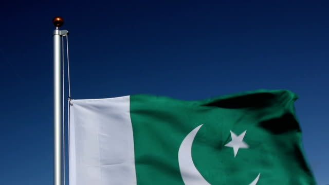 Raising the Pakistan Flag video
