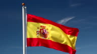 Raising the Spain Flag video
