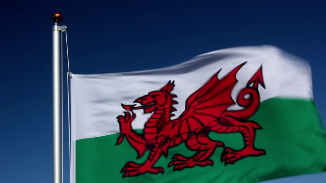 Raising the Wales Flag video
