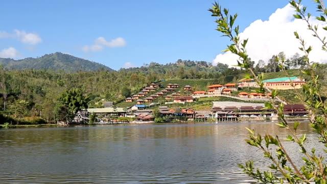 Rak Thai village, Mae Hong Son Thailand. video
