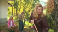 HD DOLLY: Raking Leaves video