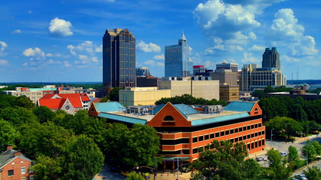 Raleigh, NC day time lapse video