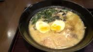 ramen with egg video