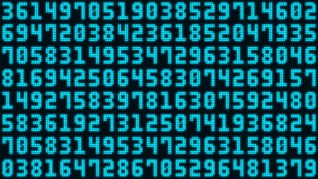 Random Numbers video