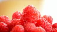 Raspberry gyrating, loop. video